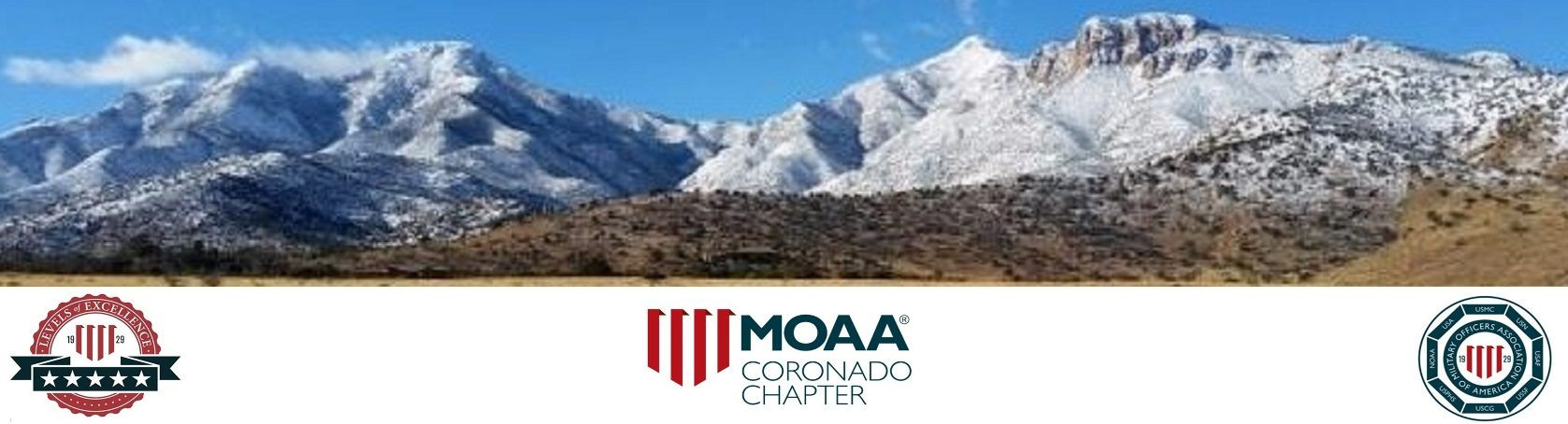 MOAA Coronado – MOAA 5 STAR LEVEL OF EXCELLENCE AWARD AND 5 STAR COMMUNICATIONS AWARD FOR 2019